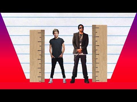How Much Taller? - Niall Horan vs Jay Z!