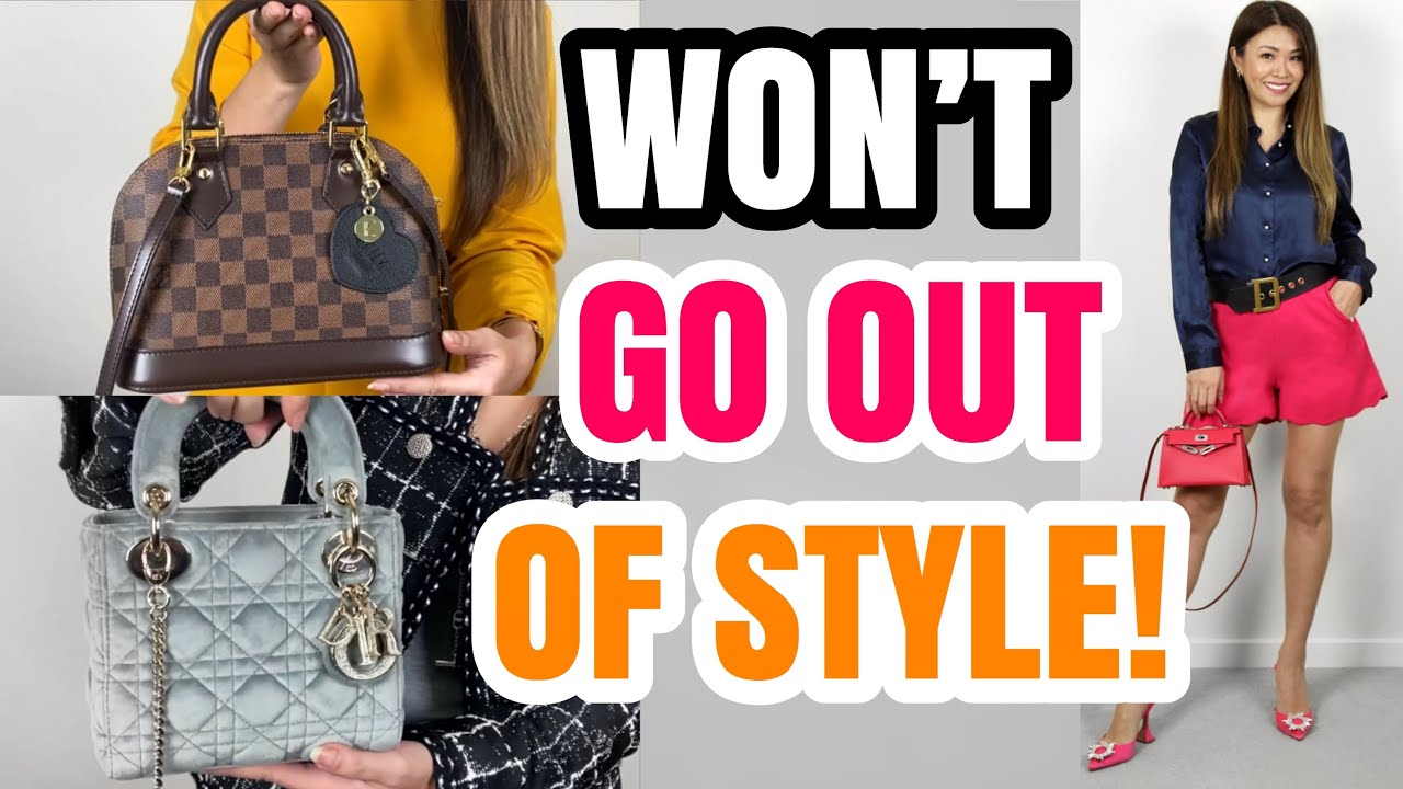 Top 5 Mini Bags That Won T Go Out Of Style Ft Lv Dior Chanel Hermes Lilysilk With Mod Shots Youtube