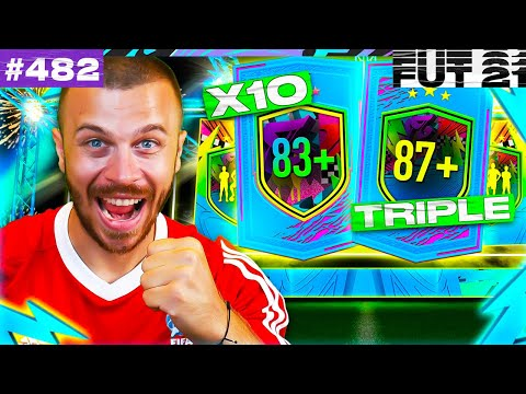 FIFA 21 MY 87+ TRIPLE UPGRADE & MY 83+ x10 RARE PLAYER PACK!