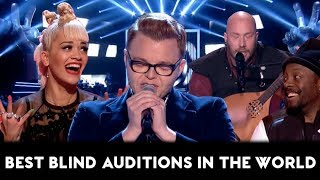 The Voice TOP-10 AMAZING & BEST Blind Auditions of All Times in the World (Part 2)