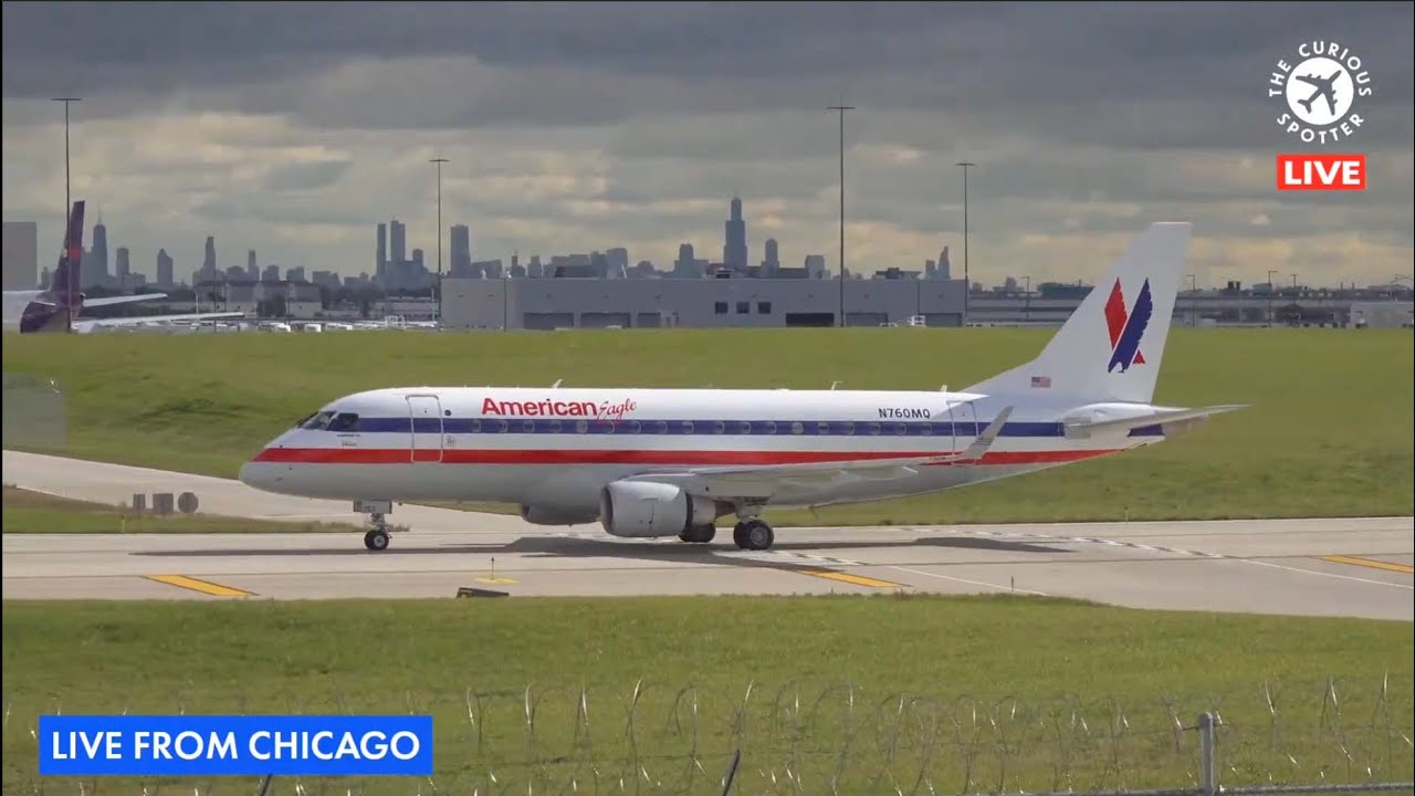 Download 🔴 LIVE ✈️ from AVGEEK PARADISE: Chicago O'Hare [ORD] ✈️