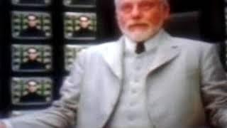 La  saga  Matrix  .  Quand Néo ( l' Antéchrist )  s' adresse  à l' Architecte ( dieu )