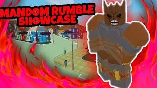 [PJJ] Mandom Rumble Showcase (Good For Combos)(OP Fusion)(Project Jojo)