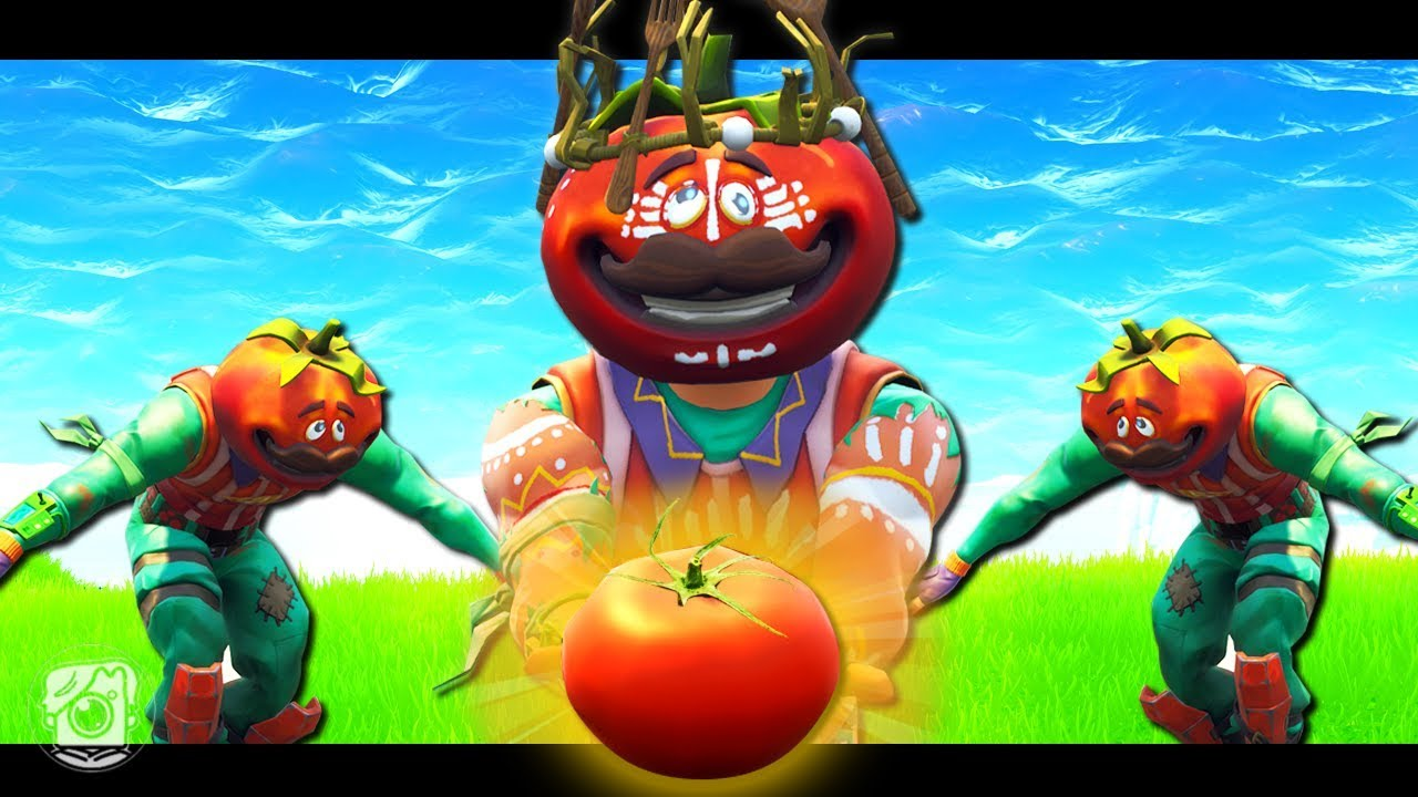 THE FIRST TOMATOHEAD?! *NEW SKIN* - A Fortnite Short Film ...