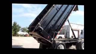 1995 Wheeler steel pup trailer for sale | sold at auction October 31, 2013