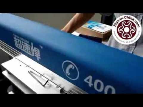 Installation of 300W YAG Laser Welding Machine for Metal Channel Letter Making