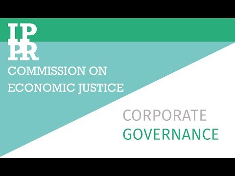 Corporate governance: An IPPR explainer