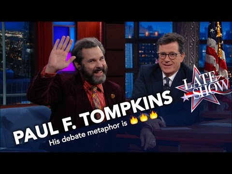 Paul F. Tompkins: Pence Won The Debate Because He Looks Like A Trophy
