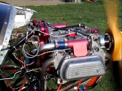 VW Aerovee Engine run up with Slick Magneto #1