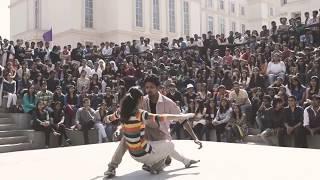 IIT MUMBAI ||BOY WITH GIRL STUDENT DANCE || by Abhishek Tiwari official