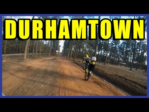 Dirt Biking at DURHAMTOWN ~ 2015 South Trip P4 - S6|EP23