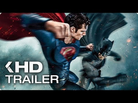 Batman v Superman: Dawn of Justice ALL Trailer & Clips (2016)