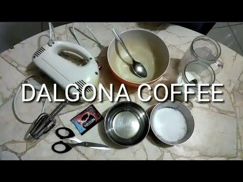 SIMPLE BANGET ! CARA MEMBUAT DALGONA COFFEE BY - GOTAMI'Z ...