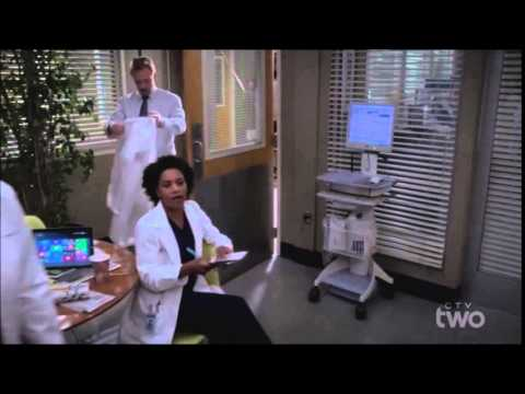 DEREK'S DEATH SCENE ON GREY'S ANATOMY [HD]