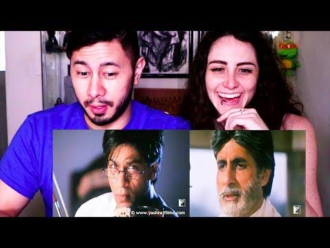 MOHABBATEIN   Amitabh Bachchan   SRK   Trailer Reaction!