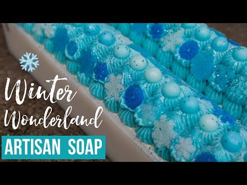Winter Wonderland Custom Soap ❄️ 2018 Holiday Collection | Royalty Soaps