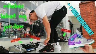 LAHAT JORDAN !!! ( Ukay Ukay Shoes VLOG ) anonas qc