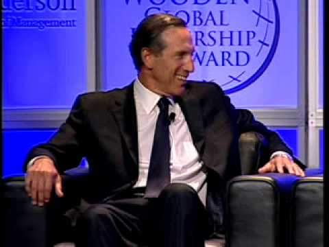 2008 John Wooden Global Leadership Awards - Howard Schultz