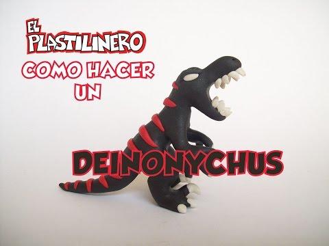 Hagamos un Deinonychus de Plastilina
