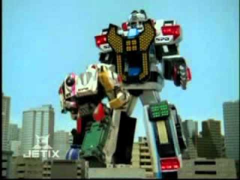 Power Rangers Spd Delta Command Megazord
