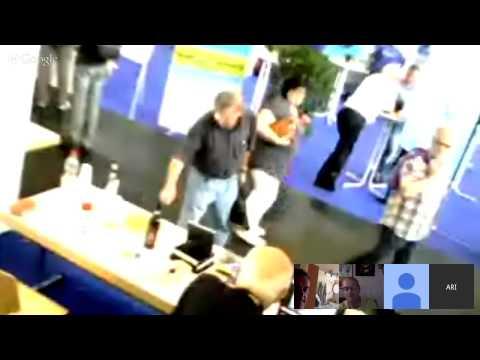 ARI VINCI at Ham Radio Messe in Friedrichshafen 2015 saturday 27 afternoon