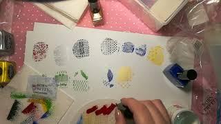 Обзор пластин, красок и штампов для стемпинга