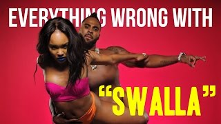 Download Everything Wrong With Jason Derulo - Swalla (feat. Nicki Minaj & Ty Dolla $ign) MP3 song and Music Video