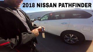 2018 Nissan Pathfinder SL Premium Package 4x4 First Look, Walk Around , Review & Start Up