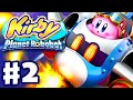 Kirby Planet Robobot - Gameplay Walkthrough Part 2 - Area 2: Resolution Road! (Nintendo 3DS English)