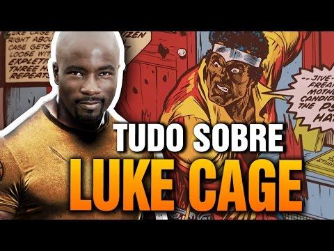 A origem e os quadrinhos de LUKE CAGE | Pipoca e Nanquim #231