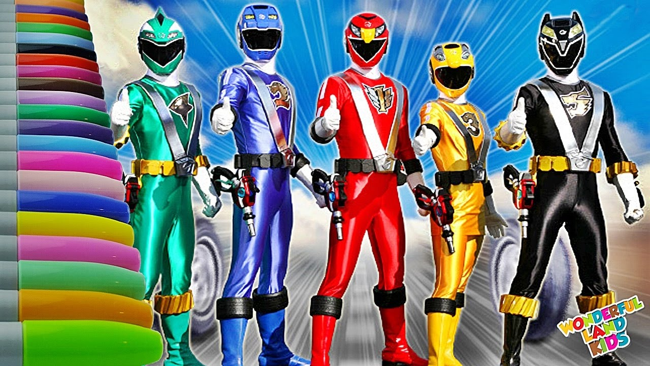 coloring pages for kids Power Rangers / Educational Coloring Book ...