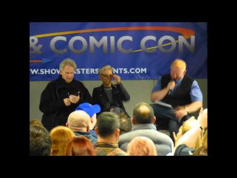 René Auberjonois and Nana Visitor Talk at Film & Comic Con Cardiff Oct 2015