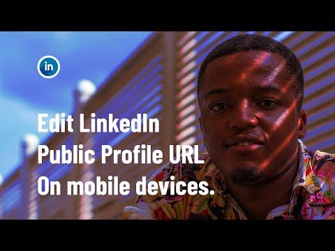 How to edit LinkedIn Public Profile URL on Mobile devices - Linkedin profile SEO optimization