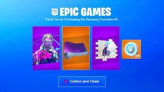 FORTNITE NEW GALAXY SPRAY RÉCOMPENSES! FORTNITE NOUVEAU PACK GALAXY BUNDLE! FORTNITE NEW GALAXY RÉCOMPENSES
