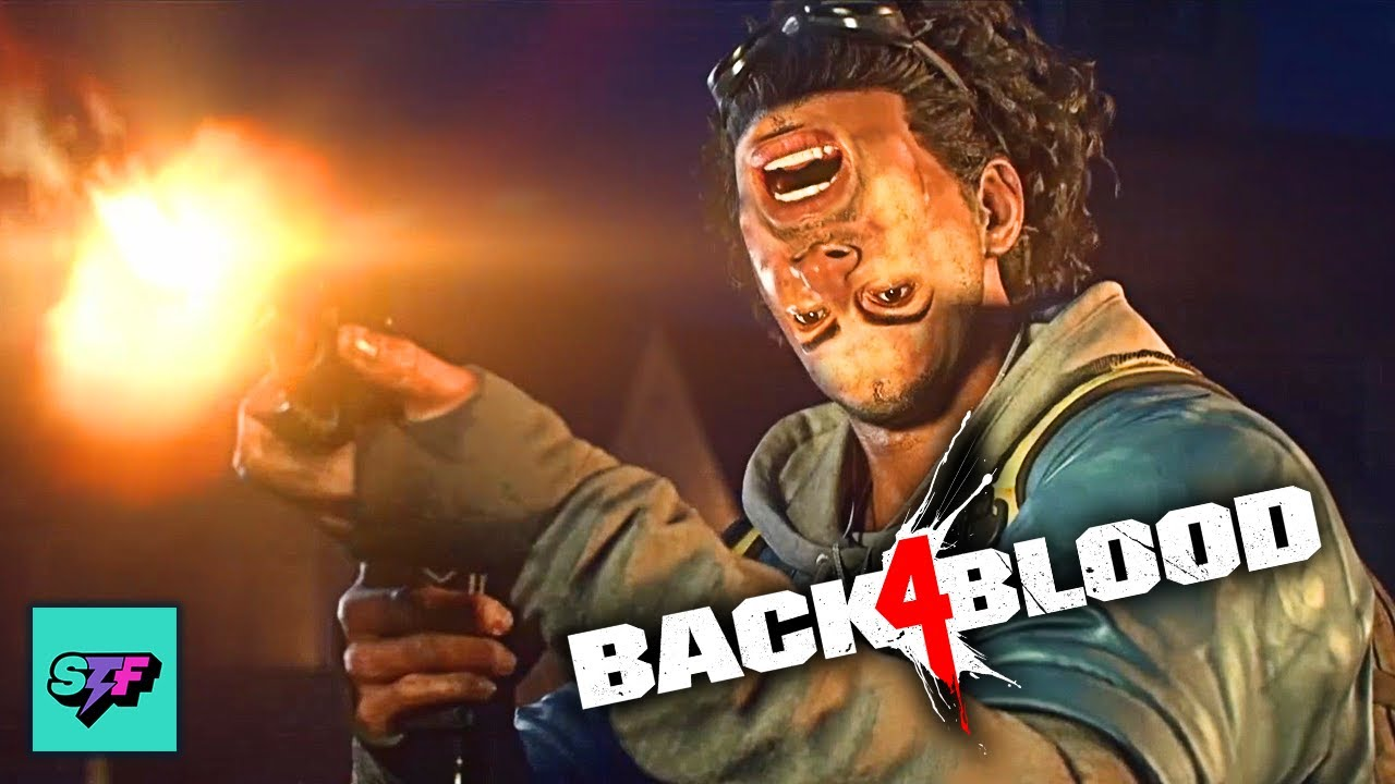 Back 4 Blood w/ BACKWARD Controls! | Hard Mode