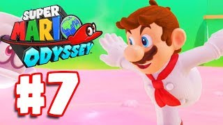 Super Mario Odyssey | Walkthrough Part 7 | Luncheon Kingdom (Super Mario Odyssey Switch)