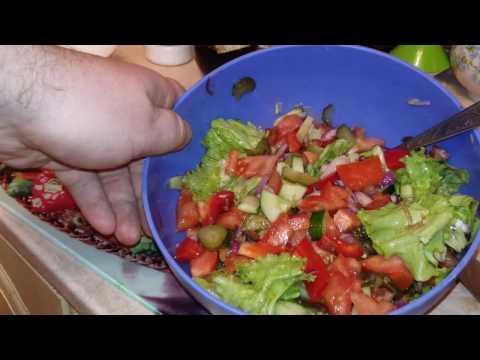 Суперский салат весенний мой рецепт