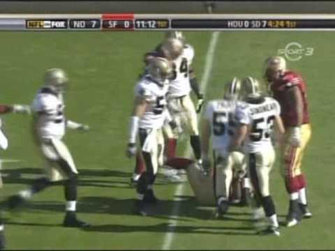 New Orleans Saints vs San Francisco 49ers 2007 Week 8