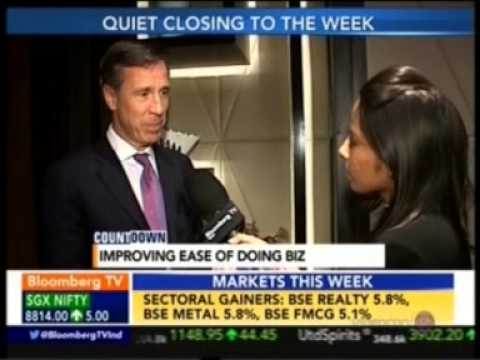02 Bloomberg TV Countdown 10 April 2015 02min 42sec Mr  Arne Sorenson   President & CEO, Marriott In