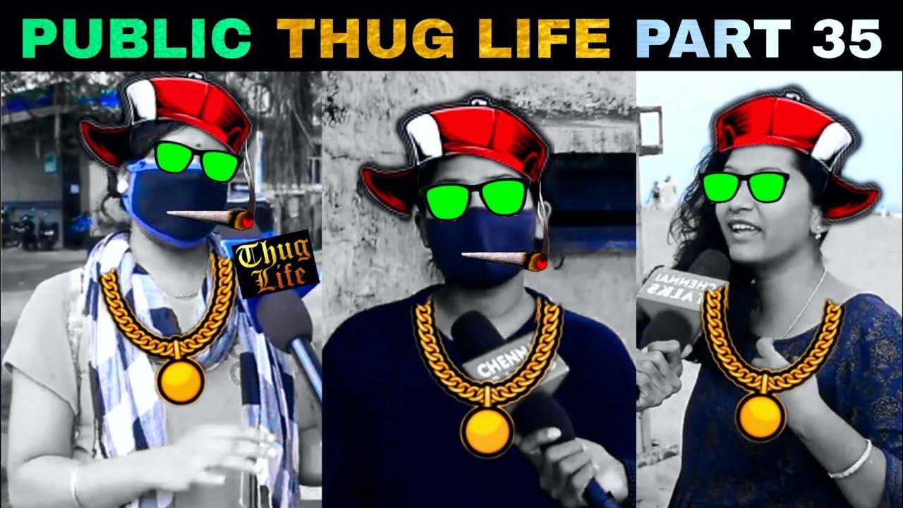 Public Thug Life Compilation Part 35   Thug Life Tamil   Viral Memes