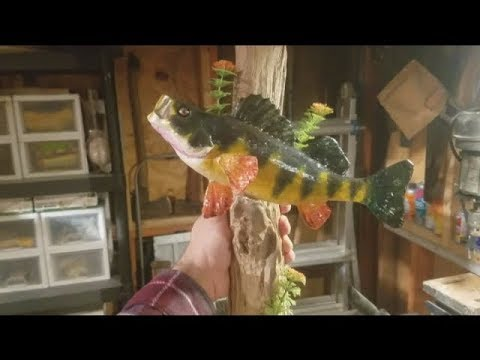 Diy fiberglass resin taxidermy fish mount youtube diy fiberglass resin taxidermy fish mount solutioingenieria Image collections