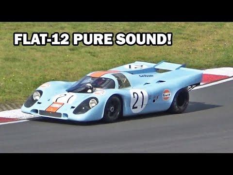Porsche 917K Amazing Flat-12 Sound!