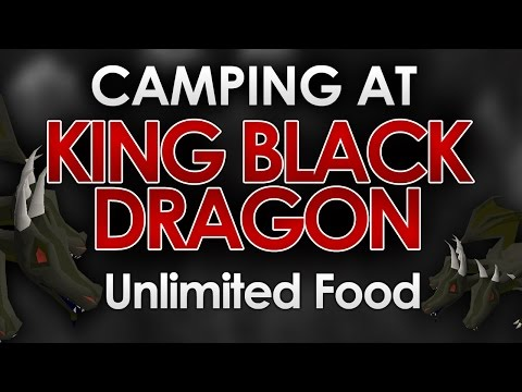 [OSRS] How to CAMP at King Black Dragon (Solo 30+ Kills/Trip)