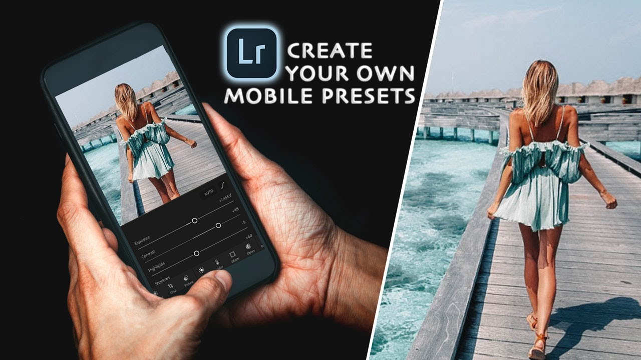 How To Create Mobile Lightroom Presets Without An Adobe Subscription