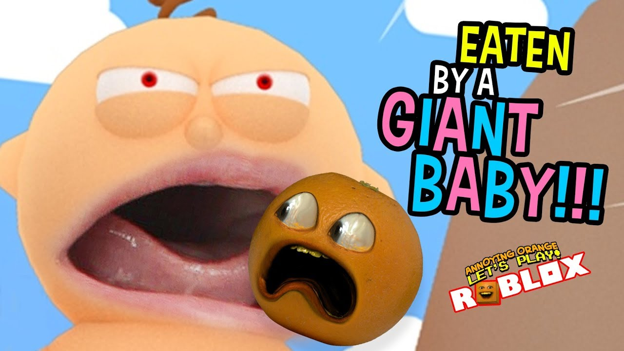 Eaten By A Giant Baby Escape The New Daycare Obby Youtube