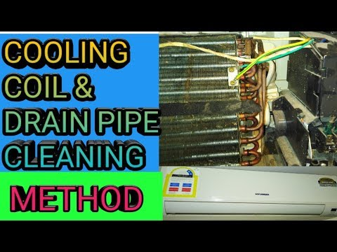 Easy Way to Get an AC Drain Line Unclogged/How to clean your ac condensate drain line in 5 minutes