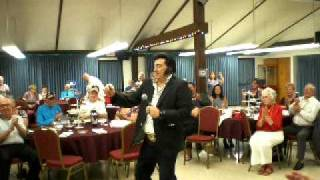 Elvis Presley by David E. Prezley 35th Anniversay Barstow Senior Citizens Center