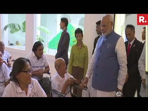 PM Narendra Modi Visits Mahaveer Philippine Foundation