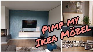 FMA| Ikea  Möbel aufpimpen| Fotowand erstellen| Die Siwuchins