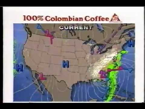 Weather Channel Off Air Superstorm 93 (1of2)